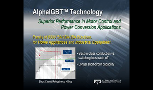 Alpha and Omega Semiconductor Enters the IGBT Market