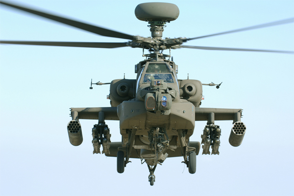 Apache Block III AH-64 Attack Helicopter