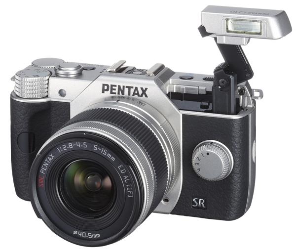 Pentax Q10 12.4 Effective Megapixel Q-Mount Compact DSLR