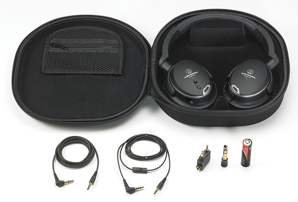 Audio-Technica ATH-ANC9 Accessories