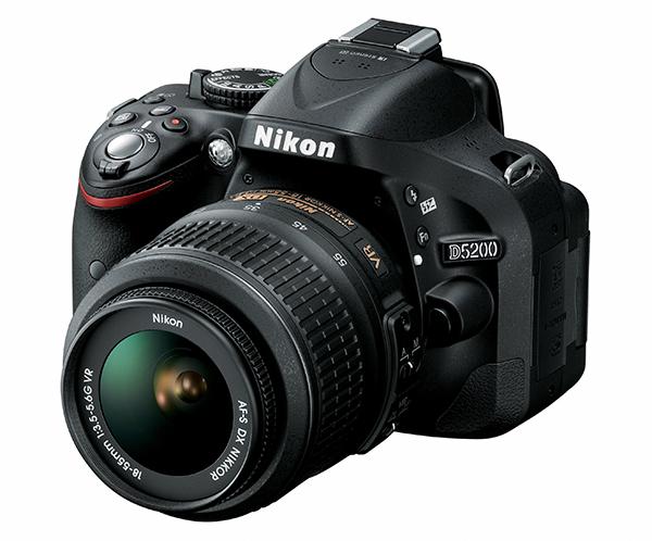 Nikon D5200 24.1 Megapixel DSLR (DX DSLR)