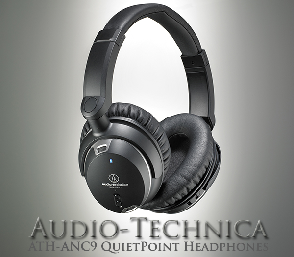Audio-Technica ATH-ANC9 QuietPoint Headphones