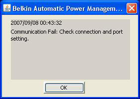 Belkin Automatic Power Management Software