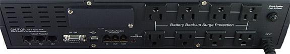 1500VA UPS - Back