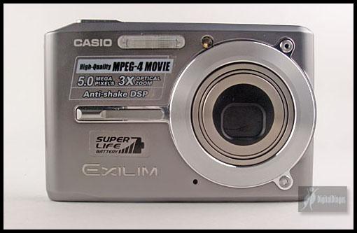 Casio Exilim Card EX-S500 Front