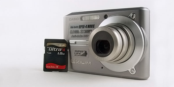 Casio Exilim 5MP EX-S500