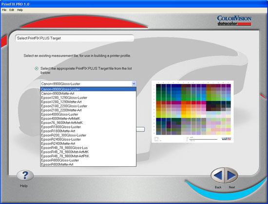 Spyder2PRO PrintFIX PLUS - Target