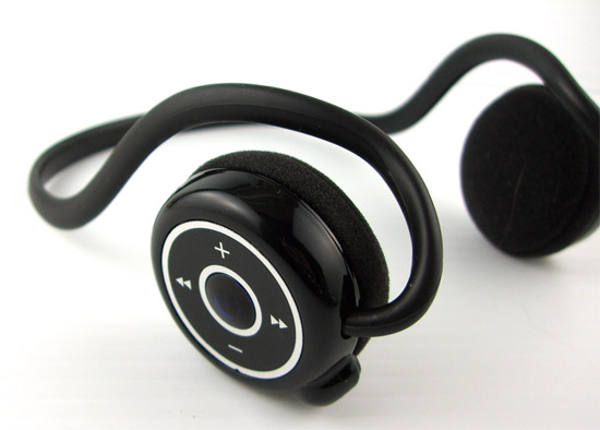 Mic Bluetooth Stereo Headset - Left Side