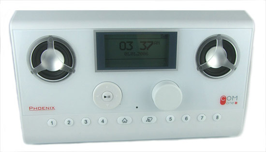 The front of the Phoenix Wi-Fi Radio