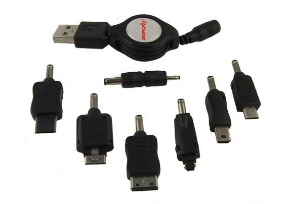 Image 4: DigiPower JumpStart - Power cable and adapters