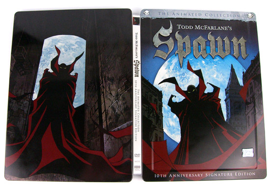 Todd McFarlane's Spawn: 10th Anniversary Signature Edition - The Back Of The Steelbook