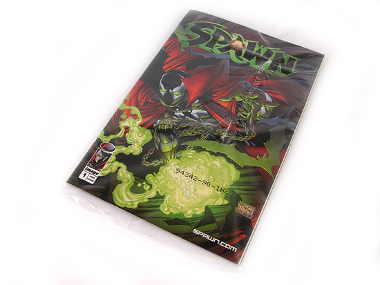 Todd McFarlane's Spawn: 10th Anniversary Signature Edition - The Included Comic Book (Best Buy Exclusive)