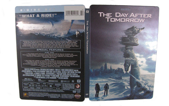 The Day After Tomorrow (Steelbook) - Front