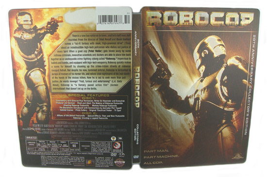 Robocop (Steelbook) - Front and Back