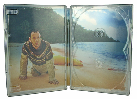 Cast Away (Steelbook) - Inside