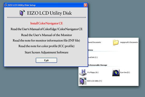 Eizo ColorEdge CE240W - Using ColorNavigator CE