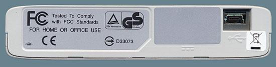 Fujitsu DynaMO 1300U2 Back
