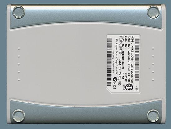 Fujitsu DynaMO 1300U2 Bottom