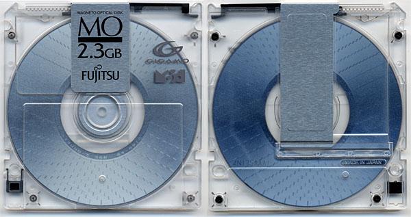 Fujitsu 2.3GB MO Disk
