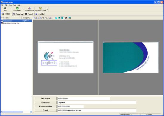 Fujitsu ScanSnap Manager Cardminder v2.0