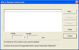 Fujitsu ScanSnap Manager (Fifth Tab - Custom Button)