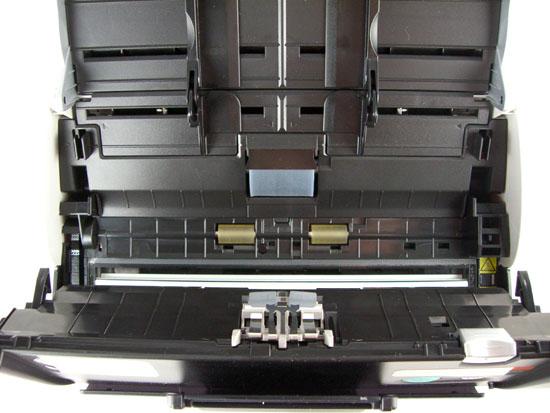 Fujitsu ScanSnap S500 - Inside
