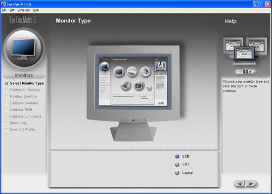 GretagMacbeth EyeOne Display 2 - LCD, CRT, or Laptop