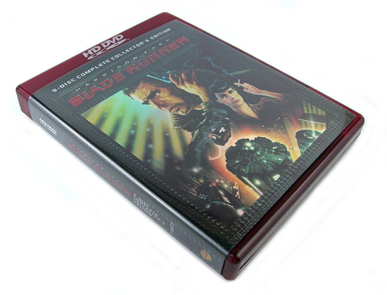 Blade Runner (Ultimate Collector's Edition) - HD DVD 5-Disc Case - Closed