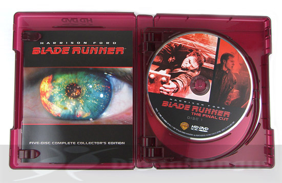 Blade Runner (Ultimate Collector's Edition) - HD DVD 5-Disc Case - Opened