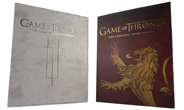 Game Of Thrones: The Complete Third Season (with Best Buy Exclusive Lannister Slipcover) (Blu-ray)