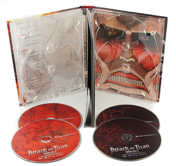 Attack On Titan (Part 1) - Limited Edition (Blu-ray)