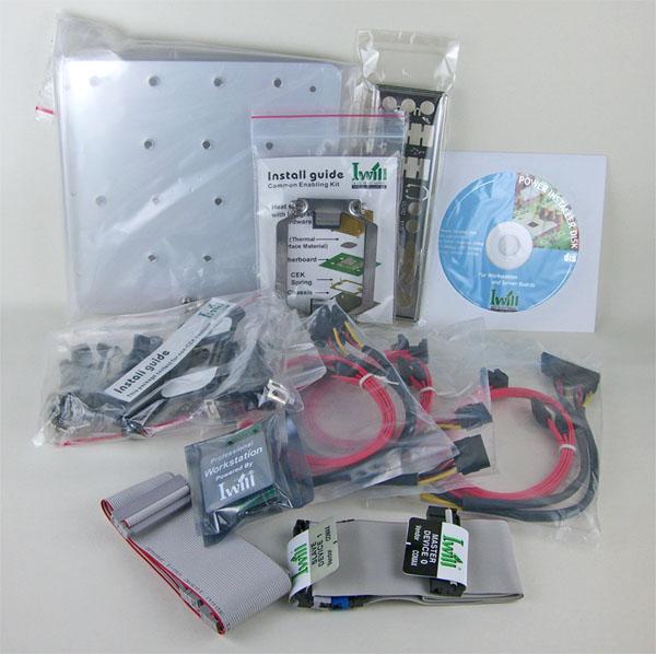Iwill DN800-SLI Included Accessories