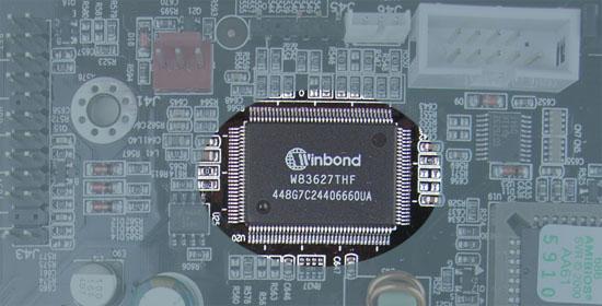 Iwill DN800-SLI Winbond W83627 THF
