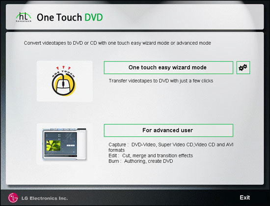 One-Touch DVD by honestech
