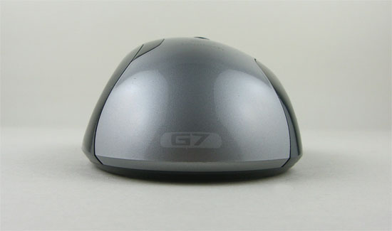 Back View Of The Logitech G7 Laser Cordless