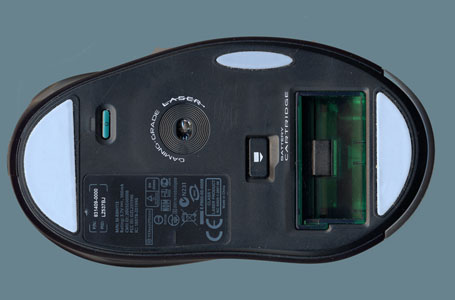 Bottom View Of The Logitech G7 Laser Cordless