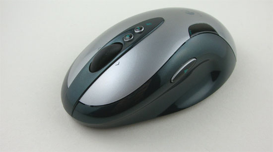 Logitech G7 Laser Cordless From The Left Side