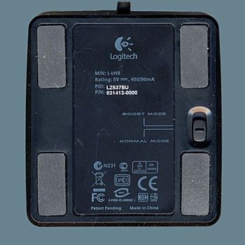 Bottom View Of The Logitech G7 Charging Station