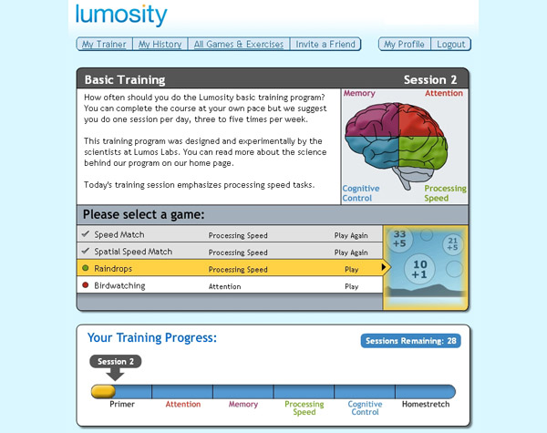 Brain Fitness by Lumosity