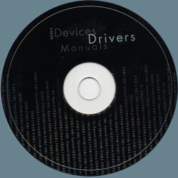 Software & Driver CD For the 250 OTG