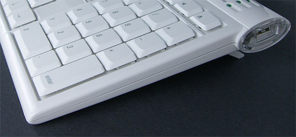 macally IceKey USB Slim Keyboard