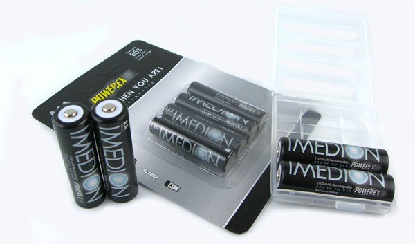 IMEDION AA 2100mAh Rechargeable Batteries