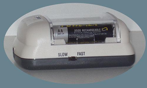 Maha MH-C401FS AA/AAA Rapid Charger