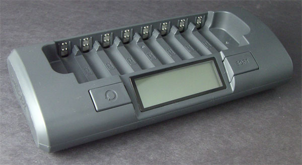 Maha MH-C800S Eight-Cell AA/AAA Battery Charger