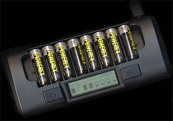 Maha MH-C801D Eight-Cell 1-Hour Battery Charger