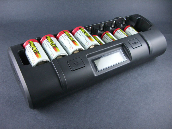 Maha MH-C808M Eight-Cell AA/AAA/C/D Battery Charger