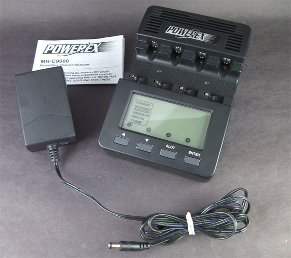 Maha MH-C9000S Advanced Digital Battery Charger & Analyzer