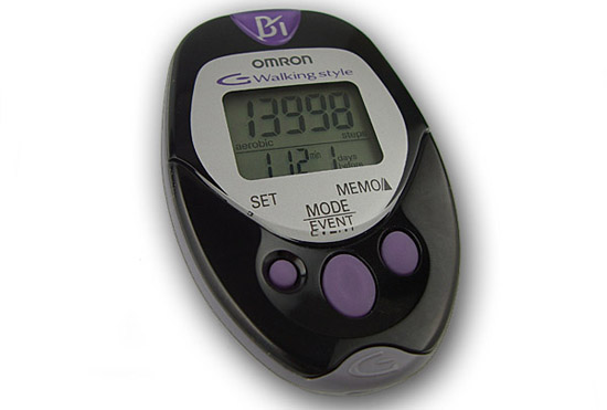 HJ-720ITC Pocket Pedometer - Front