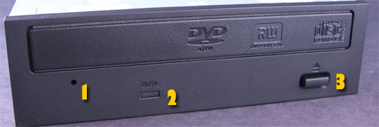 The Front Of The Pioneer DVR-111DBK