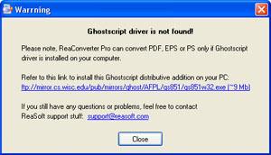GhostScript Driver